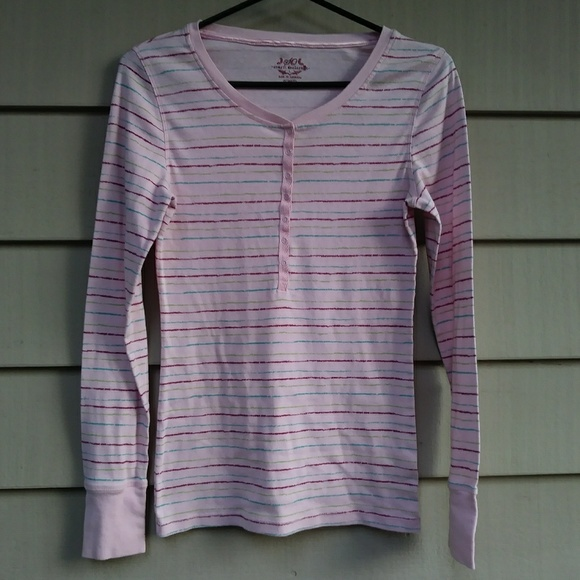 SO Other - 🔴4/$10 PINK STRIPED NIGHT SHIRT